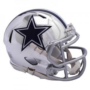 Dallas Cowboys Chrome Alternate Speed Mini Helmet