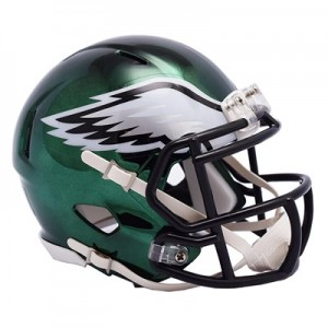 Philadelphia Eagles Chrome Alternate Speed Mini Helmet