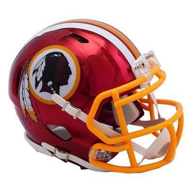 Washington Redskins Chrome Alternate Speed Mini Helmet