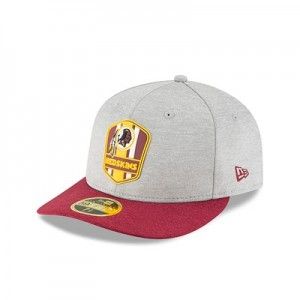 Washington Redskins New Era Official Sideline Road Low Profile 59FIFTY Fitted Cap