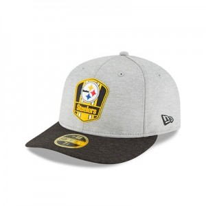Pittsburgh Steelers New Era Official Sideline Road Low Profile 59FIFTY Fitted Cap