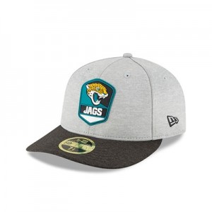 Jacksonville Jaguars New Era Official Sideline Road Low Profile 59FIFTY Fitted Cap