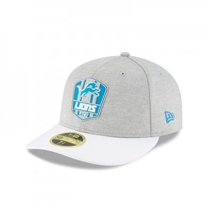 Detroit Lions New Era Official Sideline Road Low Profile 59FIFTY Fitted Cap
