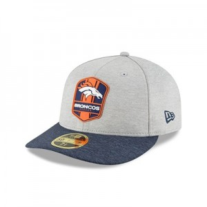 Denver Broncos New Era Official Sideline Road Low Profile 59FIFTY Fitted Cap