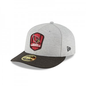 Arizona Cardinals New Era Official Sideline Road Low Profile 59FIFTY Fitted Cap