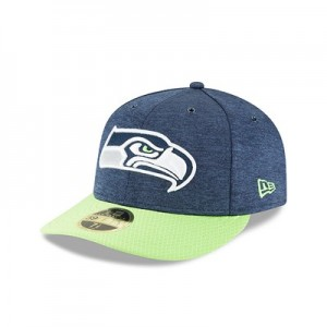 Seattle Seahawks New Era Official Sideline Home Low Profile 59FIFTY Fitted Cap