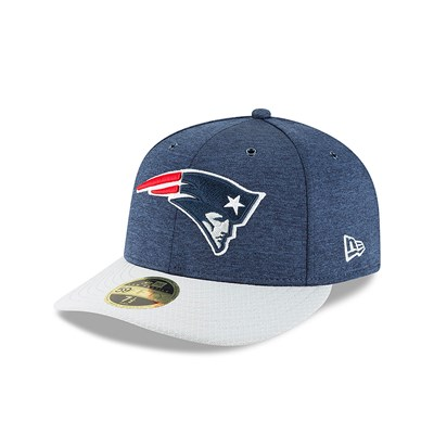 New England Patriots New Era Official Sideline Home Low Profile 59FIFTY Fitted Cap