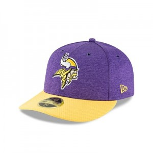 Minnesota Vikings New Era Official Sideline Home Low Profile 59FIFTY Fitted Cap