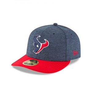 Houston Texans New Era Official Sideline Home Low Profile 59FIFTY Fitted Cap