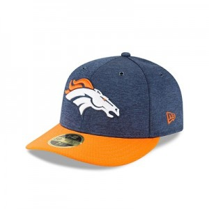 Denver Broncos New Era Official Sideline Home Low Profile 59FIFTY Fitted Cap