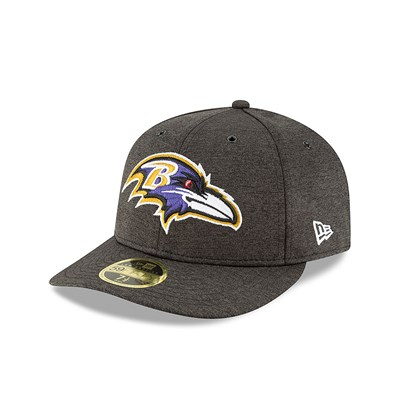 Baltimore Ravens New Era Official Sideline Home Low Profile 59FIFTY Fitted Cap