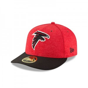 Atlanta Falcons New Era Official Sideline Home Low Profile 59FIFTY Fitted Cap