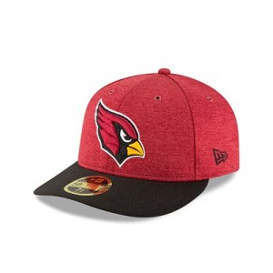 Arizona Cardinals New Era Official Sideline Home Low Profile 59FIFTY Fitted Cap
