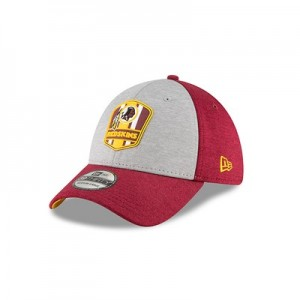 Washington Redskins New Era Official Sideline Road 39THIRTY Stretch Fit Cap