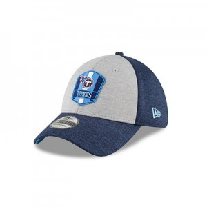 Tennessee Titans New Era Official Sideline Road 39THIRTY Stretch Fit Cap