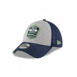 Seattle Seahawks New Era Official Sideline Road 39THIRTY Stretch Fit Cap