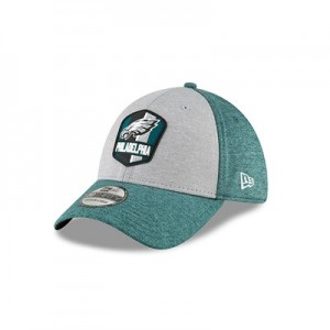 Philadelphia Eagles New Era Official Sideline Road 39THIRTY Stretch Fit Cap