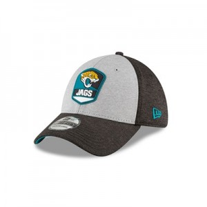 Jacksonville Jaguars New Era Official Sideline Road 39THIRTY Stretch Fit Cap