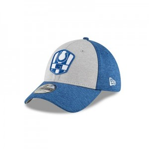 Indianapolis Colts New Era Official Sideline Road 39THIRTY Stretch Fit Cap