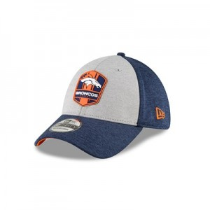 Denver Broncos New Era Official Sideline Road 39THIRTY Stretch Fit Cap