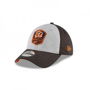 Cincinnati Bengals New Era Official Sideline Road 39THIRTY Stretch Fit Cap