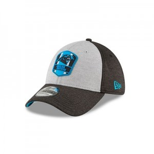 Carolina Panthers New Era Official Sideline Road 39THIRTY Stretch Fit Cap