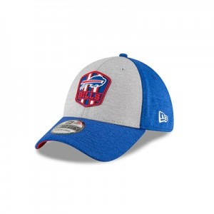 Buffalo Bills New Era Official Sideline Road 39THIRTY Stretch Fit Cap