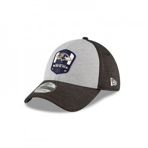 Baltimore Ravens New Era Official Sideline Road 39THIRTY Stretch Fit Cap