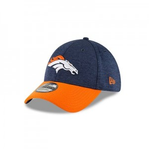 Denver Broncos New Era Official Sideline Home 39THIRTY Stretch Fit Cap