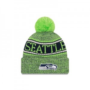 Seattle Seahawks New Era Official Cold Weather Reverse Team Colour Sport Knit