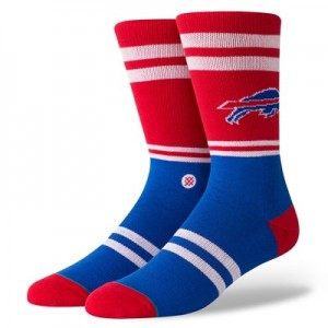 Buffalo Bills Stance Logo Sock - Mens