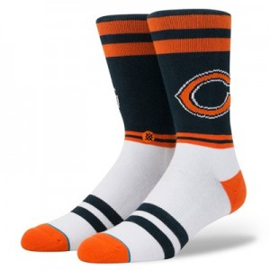 Chicago Bears Stance Logo Sock - Mens
