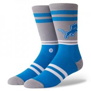 Detroit Lions Stance Logo Sock - Mens