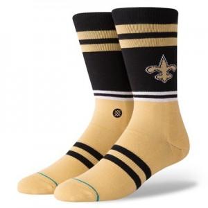 New Orleans Saints Stance Logo Sock - Mens