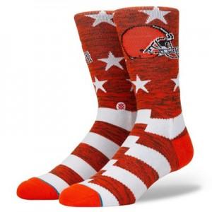 Cleveland Browns Stance Banner Sock - Mens