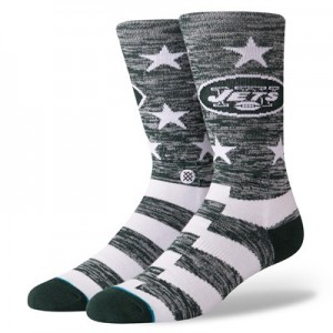 New York Jets Stance Banner Sock - Mens