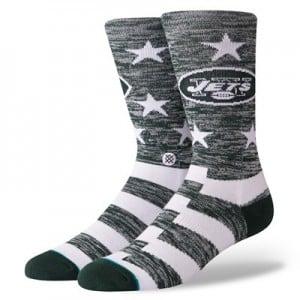 New York Jets Stance Banner Sock - Mens