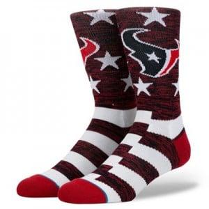 Houston Texans Stance Banner Sock - Mens