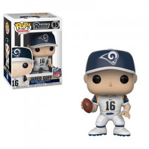 Los Angeles Rams Jared Goff Pop Vinyl Collectible Figure