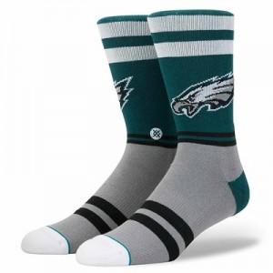 Philadelphia Eagles Stance Logo Sock - Mens