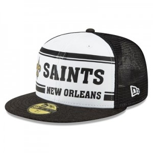 New Orleans Saints New Era 2019 Official Home Sideline 1966-76 59FIFTY Fitted Cap