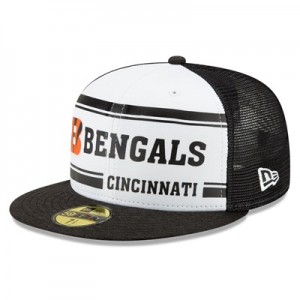 Cincinnati Bengals New Era 2019 Official Home Sideline 1966-76 59FIFTY Fitted Cap