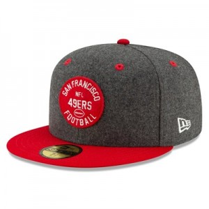 San Francisco 49ers New Era 2019 Official Home Sideline 1933-53 59FIFTY Fitted Cap