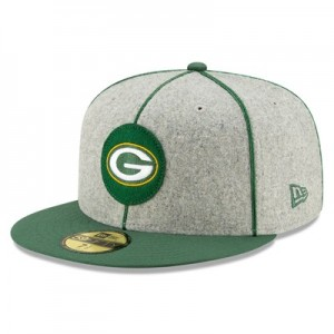 Green Bay Packers New Era 2019 Official Home Sideline 1920-25 59FIFTY Fitted Cap