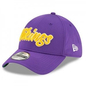 Minnesota Vikings New Era 2019 Official Home Sideline 1960-61 39THIRTY Stretch Fit Cap
