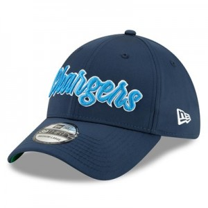 Los Angeles Chargers New Era 2019 Official Home Sideline 1960-61 39THIRTY Stretch Fit Cap