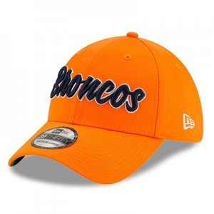 Denver Broncos New Era 2019 Official Home Sideline 1960-61 39THIRTY Stretch Fit Cap