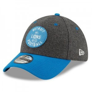 Detroit Lions New Era 2019 Official Home Sideline 1933-53 39THIRTY Stretch Fit Cap