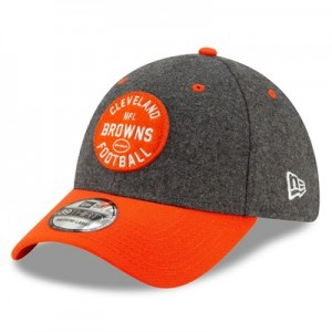 Cleveland Browns New Era 2019 Official Home Sideline 1933-53 39THIRTY Stretch Fit Cap