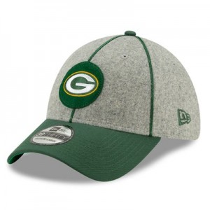 Green Bay Packers New Era 2019 Official Home Sideline 1920-25 39THIRTY Stretch Fit Cap
